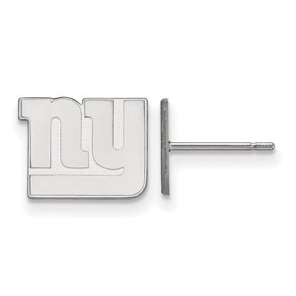 Picture of New York Giants Sterling Silver Post Earrings