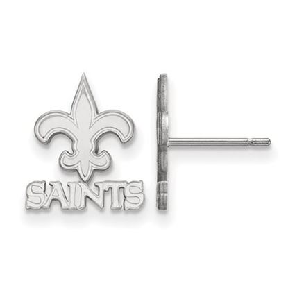 Picture of New Orleans Saints Sterling Silver Post Earrings