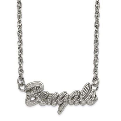 Picture of Cincinnati Bengals Stainless Steel Script Necklace