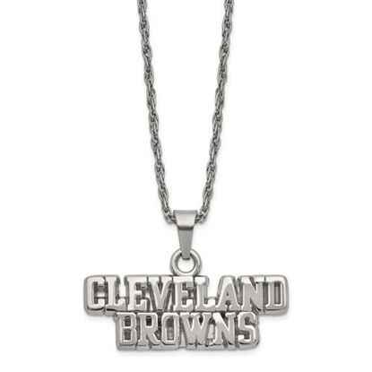 Picture of Cleveland Browns Stainless Steel Pendant Necklace