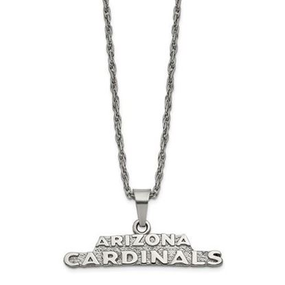Picture of Arizona Cardinals Stainless Steel Pendant Necklace