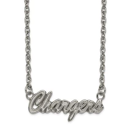 Picture of Los Angeles Chargers Stainless Steel Script Necklace