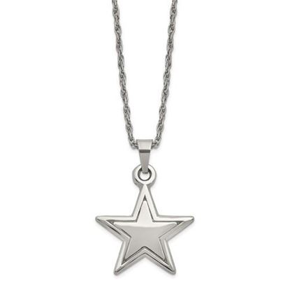 Picture of Dallas Cowboys Stainless Steel Pendant Necklace