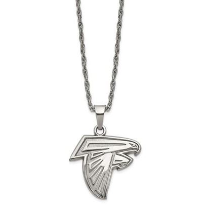 Picture of Atlanta Falcons Stainless Steel Pendant Necklace
