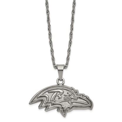 Picture of Baltimore Ravens Stainless Steel Pendant Necklace
