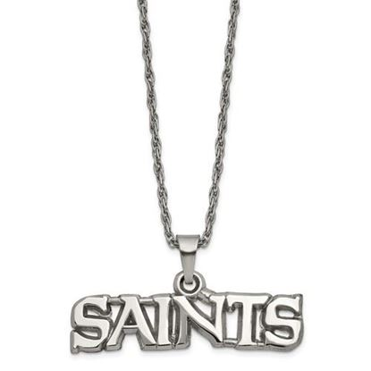 Picture of New Orleans Saints Stainless Steel Pendant Necklace