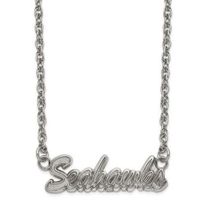 Picture of Seattle Seahawks Stainless Steel Script Necklace