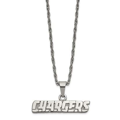 Picture of Los Angeles Chargers Stainless Steel Pendant Necklace