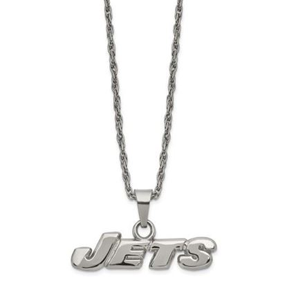 Picture of New York Jets Stainless Steel Pendant Necklace