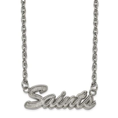 Picture of New Orleans Saints Stainless Steel Script Necklace
