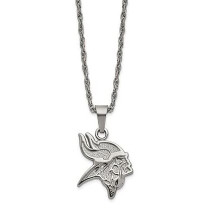 Picture of Minnesota Vikings Stainless Steel Pendant Necklace