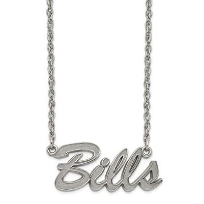 Picture of Buffalo Bills Stainless Steel Script Necklace