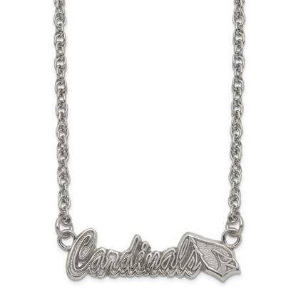 Picture of Arizona Cardinals Stainless Steel Script Necklace