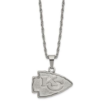 Picture of Kansas City Chiefs Stainless Steel Pendant Necklace