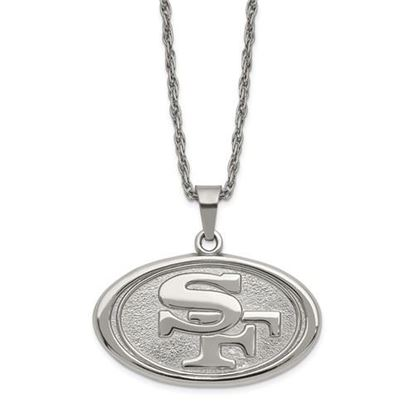 Picture of San Francisco 49ers Stainless Steel Pendant Necklace