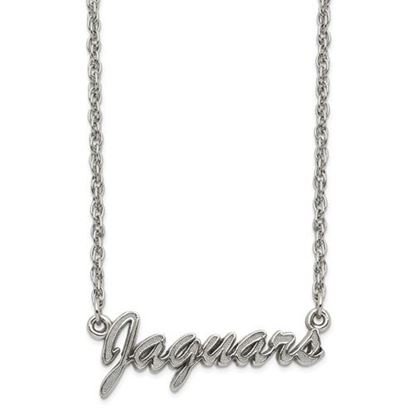 Picture of Jacksonville Jaguars Stainless Steel Script Necklace