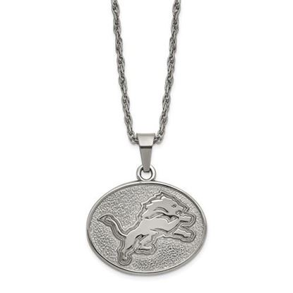 Picture of Detroit Lions Stainless Steel Pendant Necklace