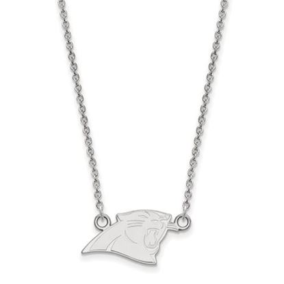 Picture of Carolina Panthers Sterling Silver Small Pendant Necklace
