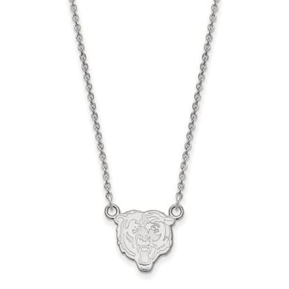 Picture of Chicago Bears Sterling Silver Small Pendant Necklace