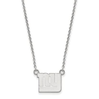 Picture of New York Giants Sterling Silver Small Pendant Necklace