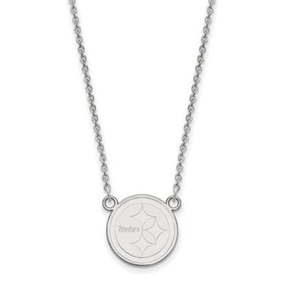 Picture of Pittsburgh Steelers Sterling Silver Small Pendant Necklace