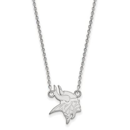 Picture of Minnesota Vikings Sterling Silver Small Pendant Necklace