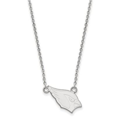 Picture of Arizona Cardinals Sterling Silver Small Pendant Necklace