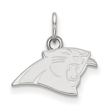 Picture of Carolina Panthers Sterling Silver Extra Small Pendant