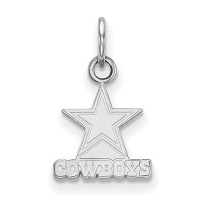Picture of Dallas Cowboys Sterling Silver Extra Small Pendant