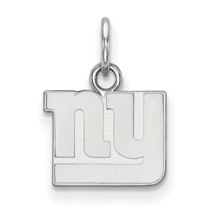 Picture of New York Giants Sterling Silver Extra Small Pendant