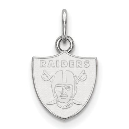 Picture of Oakland Raiders Sterling Silver Extra Small Pendant
