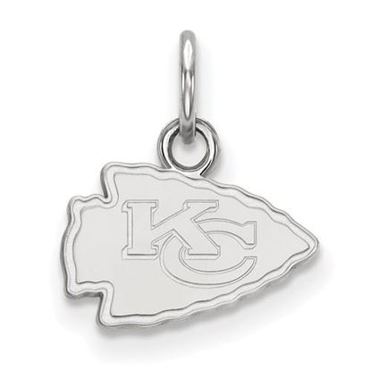Picture of Kansas City Chiefs Sterling Silver Extra Small Pendant