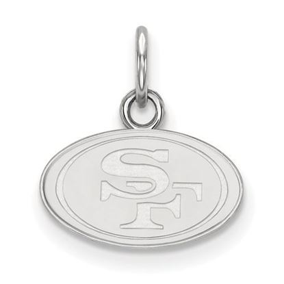 Picture of San Francisco 49ers Sterling Silver  Extra Small Pendant
