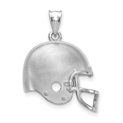 Picture of Cleveland Browns Sterling Silver Football Helmet Logo Pendant