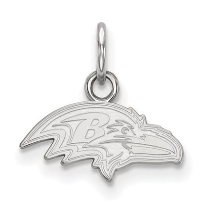 Picture of Baltimore Ravens Sterling Silver Extra Small Pendant