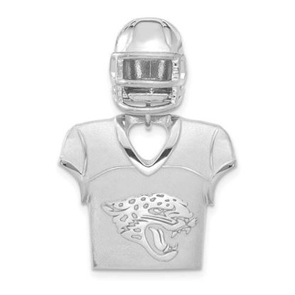 Picture of Jacksonville Jaguars Sterling Silver Jersey and Helmet Pendant
