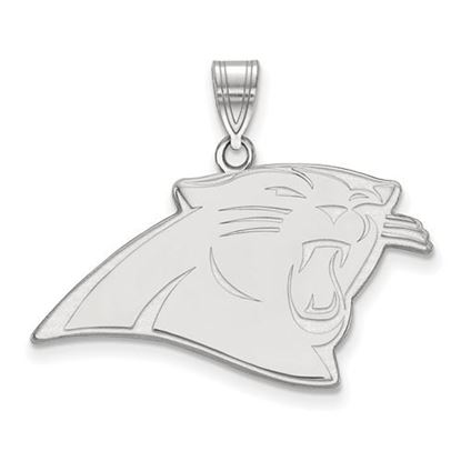 Picture of Carolina Panthers Sterling Silver Large Pendant