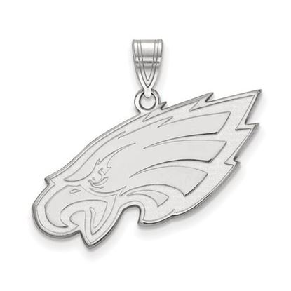 Picture of Philadelphia Eagles Sterling Silver Large Pendant