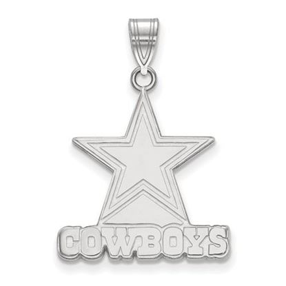 Picture of Dallas Cowboys Sterling Silver Large Pendant