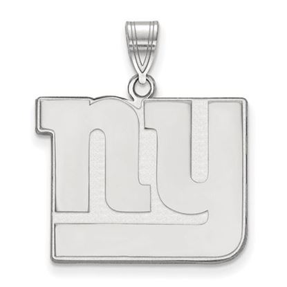 Picture of New York Giants Sterling Silver Large Pendant
