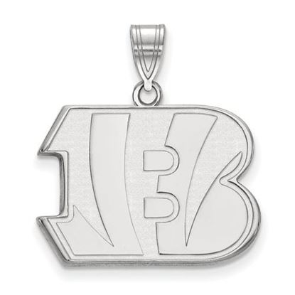 Picture of Cincinnati Bengals Sterling Silver Large Pendant