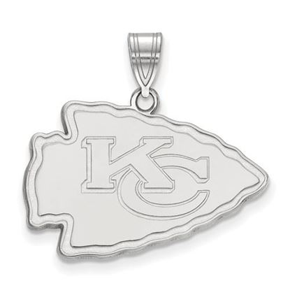 Picture of Kansas City Chiefs Sterling Silver Large Pendant