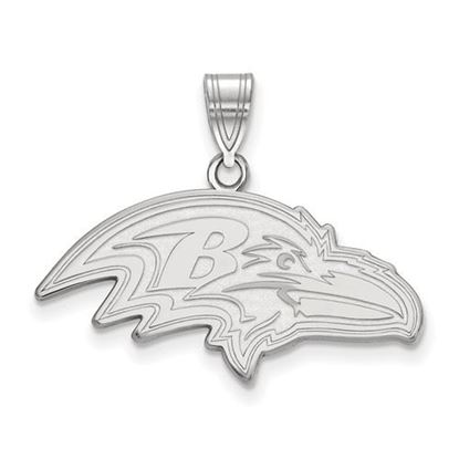 Picture of Baltimore Ravens Sterling Silver Large Pendant