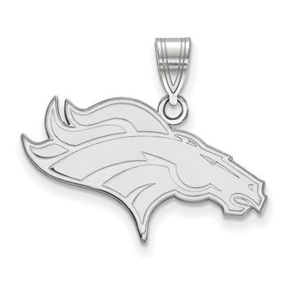 Picture of Denver Broncos Sterling Silver Medium Pendant