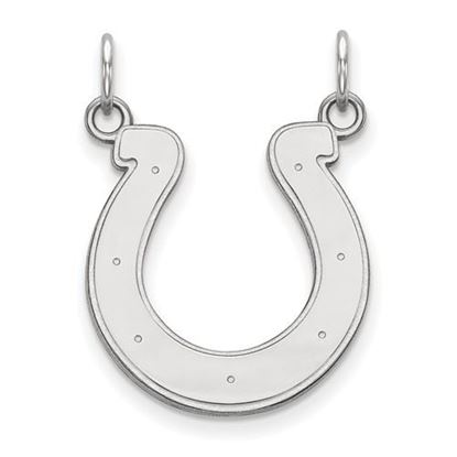 Picture of Indianapolis Colts Sterling Silver Medium Pendant