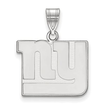 Picture of New York Giants Sterling Silver Medium Pendant