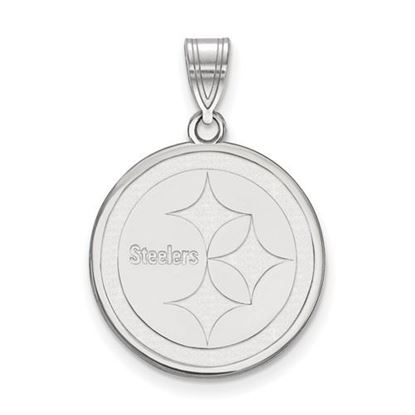 Picture of Pittsburgh Steelers Sterling Silver Medium Pendant