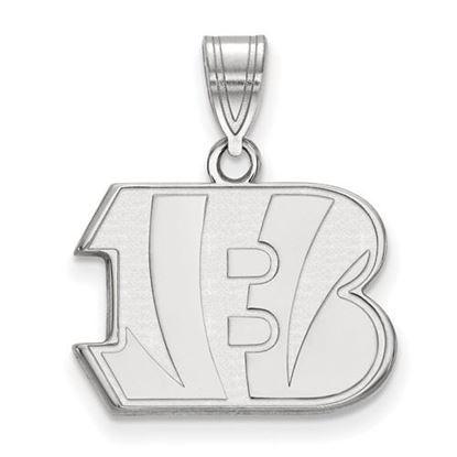 Picture of Cincinnati Bengals Sterling Silver Medium Pendant