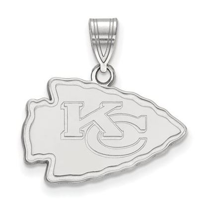 Picture of Kansas City Chiefs Sterling Silver Medium Pendant