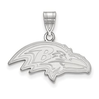 Picture of Baltimore Ravens Sterling Silver Medium Pendant